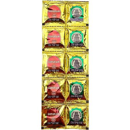 GOPURAM Manjal Kumkum (0.5 Inch X 3.7 Inch X 11 Inch)