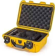 Nanuk Drone Waterproof Hard Case with Custom Foam Insert for DJI Mavic Air Fly More Combo - Yellow