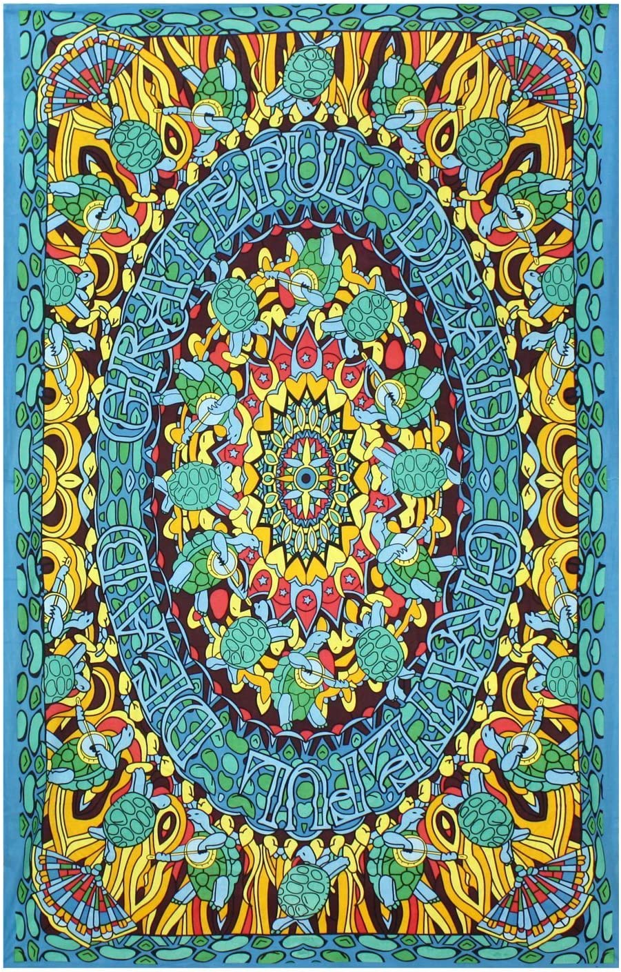 Sunshine Joy Grateful Dead Terrapin Dance Tapestry Tablecloth Wa
