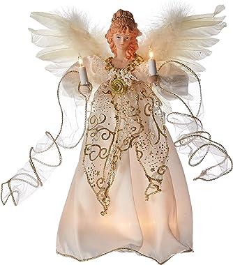 Kurt Adler Illuminated Angel Treetop