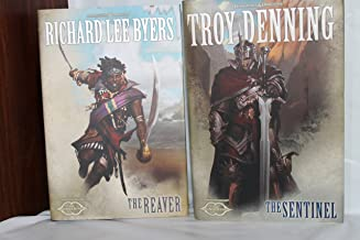 Dungeons & Dragons 4 book set: THe Adversary, THe Godborn, THe Reaver, & THe Sentinel