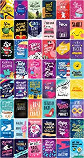 Good Vibes Encouragement Cards 48 | Inspirational Gifts for Women and Men | Happy Motivational Inspirational Messages | Bl...