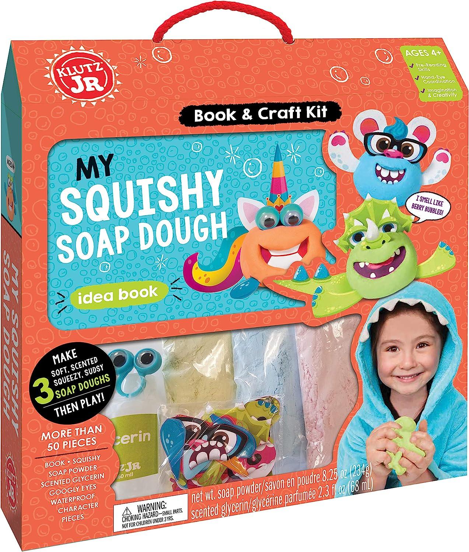 Klutz My Squishy Soap Dough Jr. Craft Kit