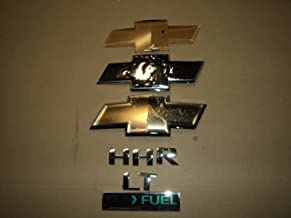 06-11 Chevrolet HHR LT Flex Fuel Front Rear Tailgate Logo Emblem Decal Ornaments Set Of