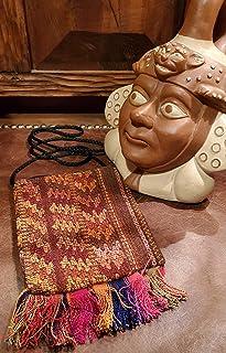 Crossbody Coca leaf bag Indian Native Shaman Aspen Andes