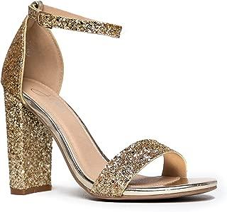 Best womens gold glitter heels Reviews