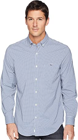 Vineyard Vines Grand Cay Gingham Performance Classic Tucker Shirt