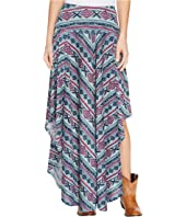 Double D Ranchwear - Butterfly Bleu Long Skirt