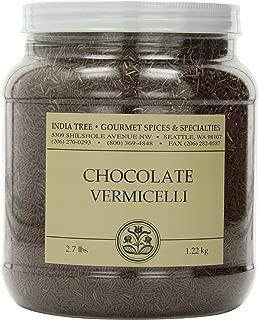 India Tree Chocolate Vermicelli, 2.7 lb