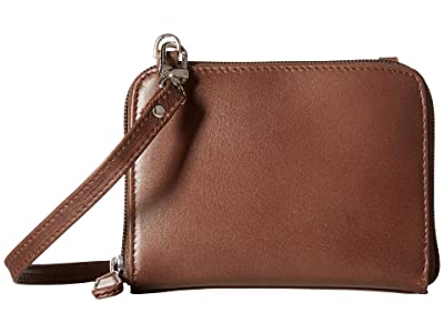 Scully Addison Stadium Crossbody (Brown) Cross Body Handbags