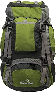 American Outback Zion Internal Frame Hiking Backpack