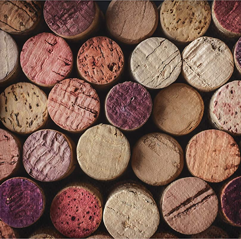 Wine Party Cork Beverage Napkins 72 Ct