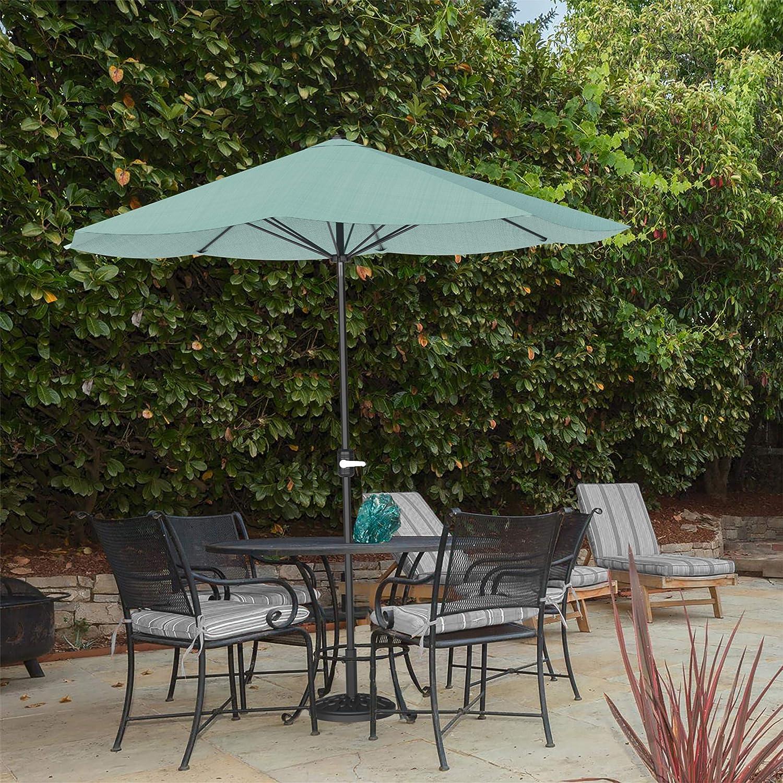 Pure Garden 50-LG1041 Patio Umbrella Easy Virginia Beach Mall Outdoor Cra Ranking TOP3 Shade with