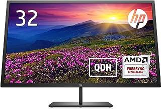HP モニター 32インチ ディスプレイ QHD 解像度2560x1440 非光沢 VAパネル 高視野角 薄型 省スペース Pavilion 32 QHD ディスプレイ (型番:4WH45AA#ABJ)
