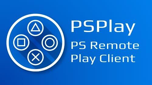 『PSPlay: 無制限のPlayStationリモートプレイ』のトップ画像