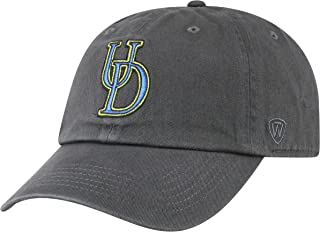 official photos 37019 18064 Top of the World NCAA Delaware Fightin  Blue Hens Men s Adjustable Relaxed  Fit Charcoal Icon
