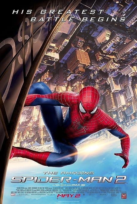 Amazon Com Poster De The Amazing Spider Man 2 Poster De La Pelicula 2014 De Grosor Tamano Original 24 X 36 Inch Andrew Garfield Emma Piedra Jamie Foxx Hogar Y Cocina