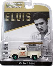 Greenlight Rare Chase Green Machine 44800-B Hollywood Series 20 - Elvis Presley - 1954 Ford F-100 Truck Crown Electric Company 1:64 Scale