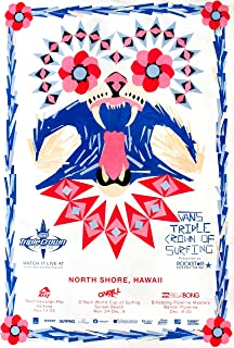 REEF Official 2008 Triple Crown Surfing North Shore Hawaii Contest Poster