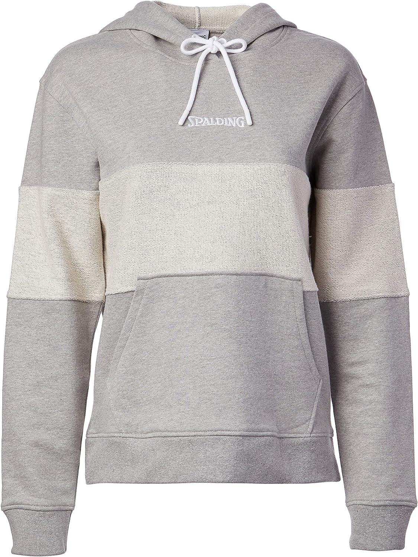 Spalding Women's Activewear Heritage Sweatshirt Blocked 67% OFF of fixed price Hoodie Ranking TOP14