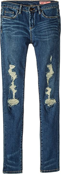 Shredded Distressed Denim Skinny in Playing Favorites (Big Kids)