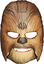 Star Wars Movie Roaring Chewbacca Wookiee Sounds Mask, Funny GRAAAAWR Noises, Sound Effects, Ages 5 and up, Brown (Amazon ...