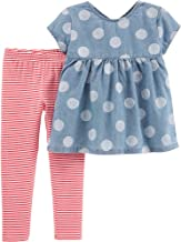 Carter's Girls' 2 Pc Playwear Sets 259g342