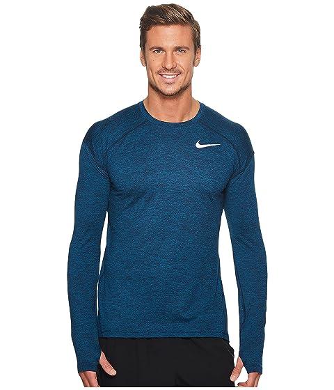 Top Sleeve Long Element Nike Running Dry q7W0tn0X
