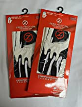 (2) Zero Friction Youth Golf Gloves, Right Hand, One Size, White