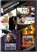Steve McQueen: 4 Film Favorites (The Hunter, Nevada Smith, Bullit, Papillon)