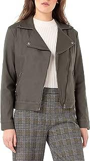 Women's Moto Jacket Coated Denim