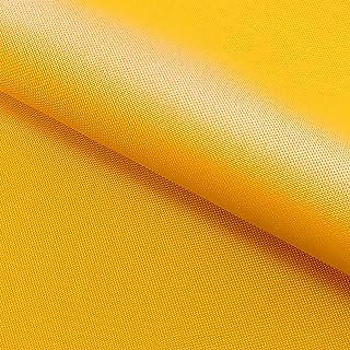 NOVELY Oxford 210D   Polyester   anschmiegsam nachgiebig   Meterware Segeltuch Sonnengelb