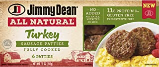 is jimmy dean turkey sausage gluten free