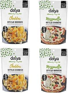 Daiya Cheddar and Mozzarella Cutting Board Shreds (4 pack)