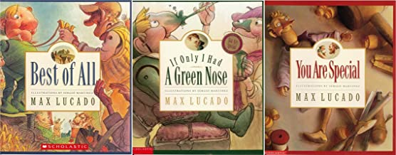 Max Lucado's You are Unique Children Book Set : Best of All / You are Special / If Only I Had a Green Nose (Max Lucado)