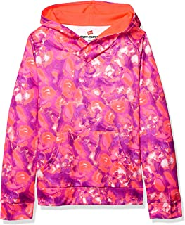 Hanes Girls' Big Tech Fleece Raglan Pullover Hoodie