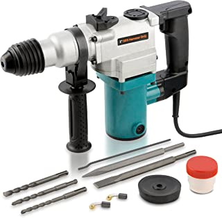 "Hiltex 10504 1"" Electric Rotary Hammer Drill, 4.7 Amp 
