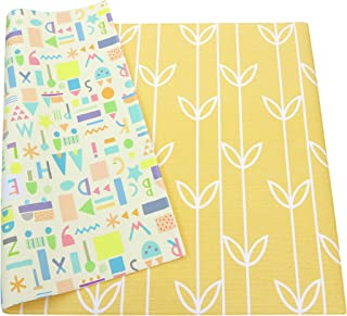 Baby Care Play Mat - Haute Collection (Large, Sea Petals - Yellow)