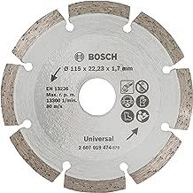 Kinzo 71761 Disque diamant sciage sec//humide turbo pour brique//ardoise//b/éton 115 mm