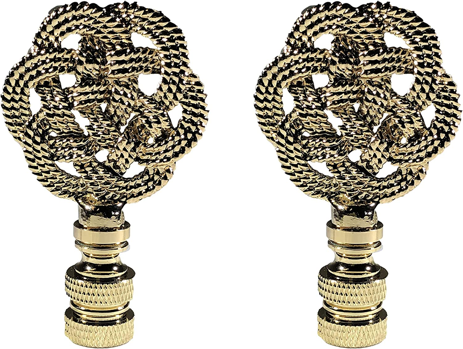Royal Designs Inc. Decorative Celtic Polished Knot Ranking TOP7 Lamp Finial Cheap