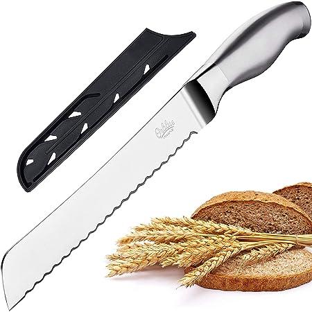 Amazon Com Mercer Culinary Millennia Bread Knife 10 Inch Wavy Edge Wide Black Kitchen Dining