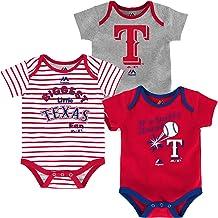 Texas Rangers Baseball Baby Bodysuit Creeper New Gift Choose Size /& Color