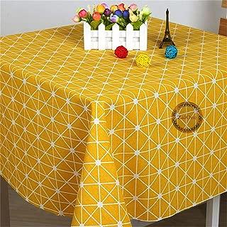 ZAIONE Fashion Geometric Printed Cotton Linen Fabrics by The Yard Width 58
