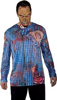 Underwraps Costumes Men's Zombie Costume - Photo Real Shirt