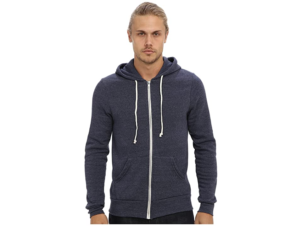 Alternative Rocky Zip Hoodie (Eco True Navy) Men