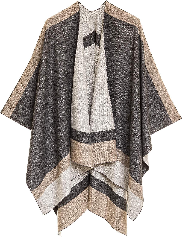 Women's Shawl Wrap Sales results No. 1 Poncho Ruana Open Sweater Front Cardigan SALENEW very popular! Cape