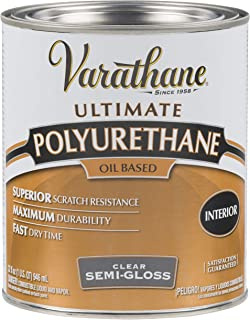 Rust-Oleum 6041H Varathane Ultimate Polyurethane Oil Based, Quart, Semi-Gloss