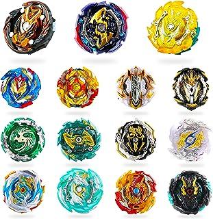 RIMOZO-SPINZ 15 Pieces Bey Battle Top Gyro Burst Turbo Gt God Evolution Metal Fusion Fury Top Birthday Gift Toys for Boys ...