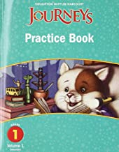 Journeys: Practice Book Consumable Volume 1 Grade 1