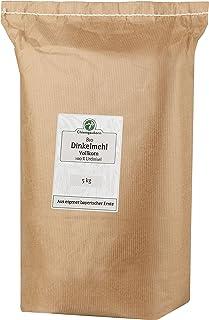 Chiemgaukorn Bio Dinkelmehl Vollkorn 5 kg, Urdinkel